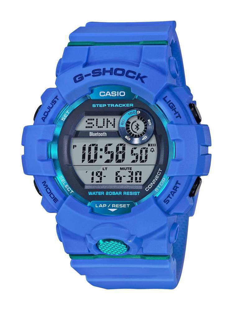 G-Shock Squad系列GBD-800-2腕表,約3,500元。圖/Cas...