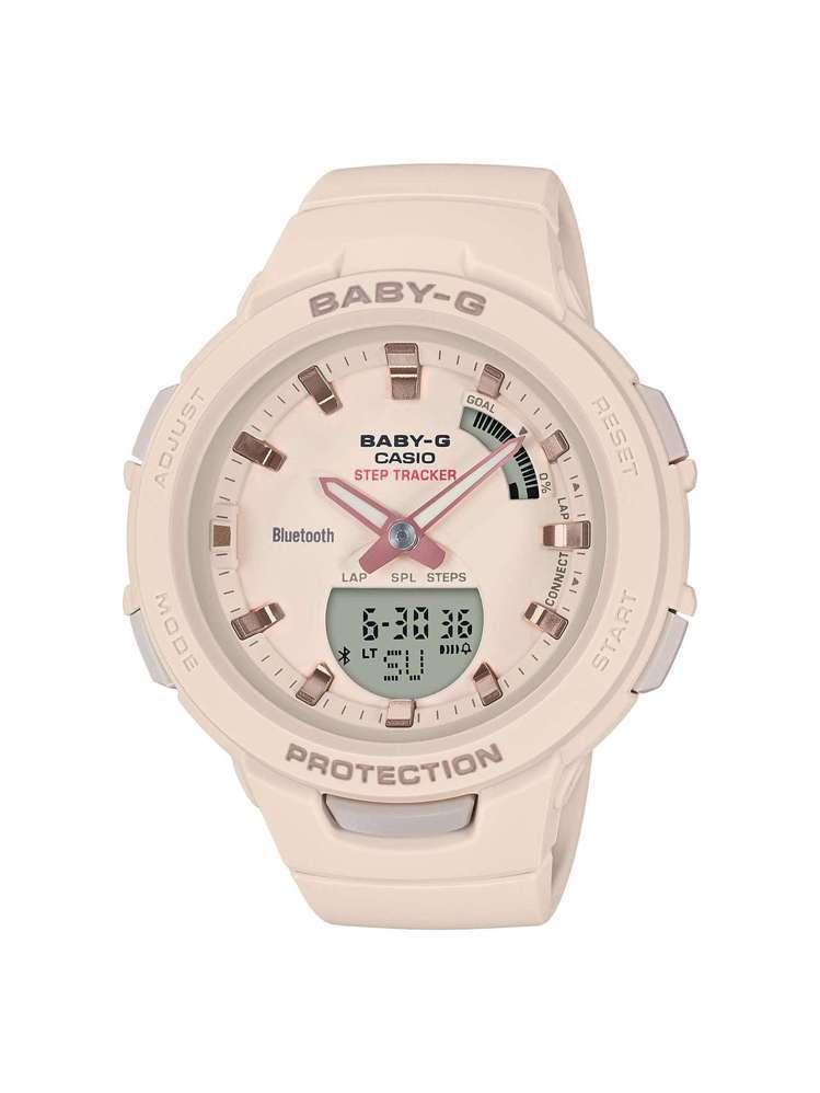 Baby-G Squad系列BSA-B100-4A1腕表,約3,900元。圖/C...