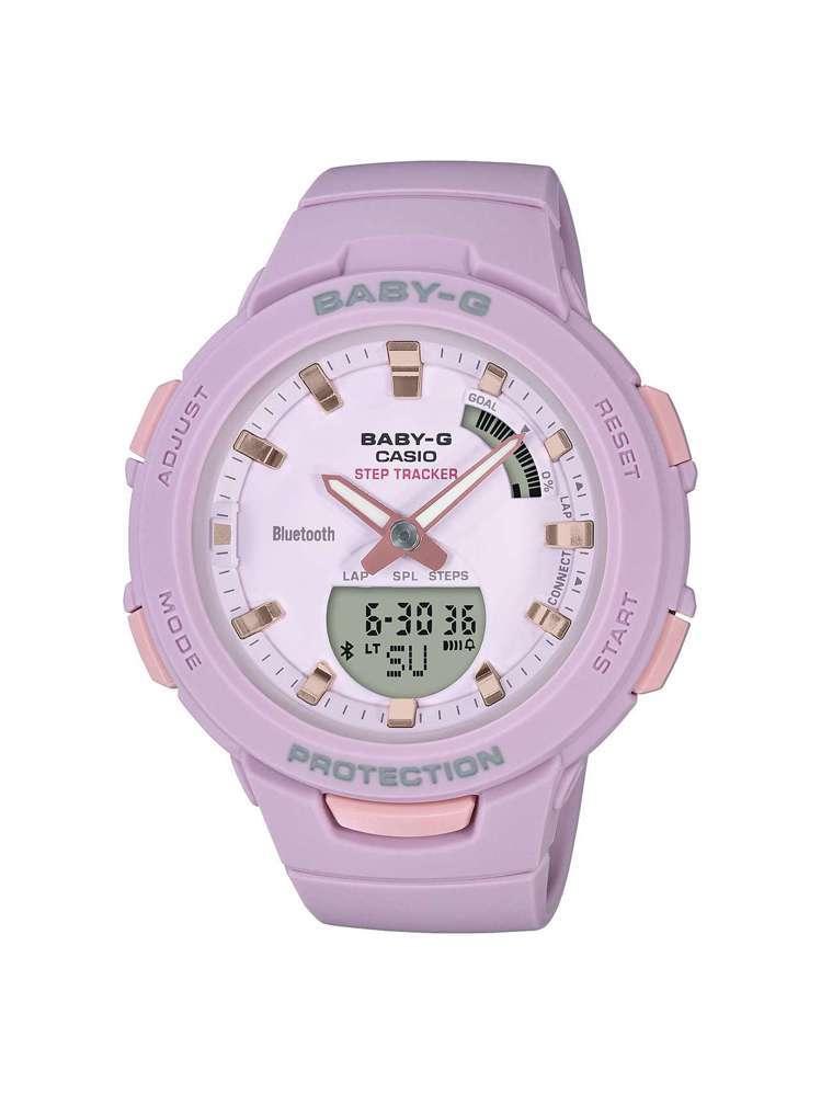 Baby-G Squad系列BSA-B100-7A腕表,約3,900元。圖/Ca...