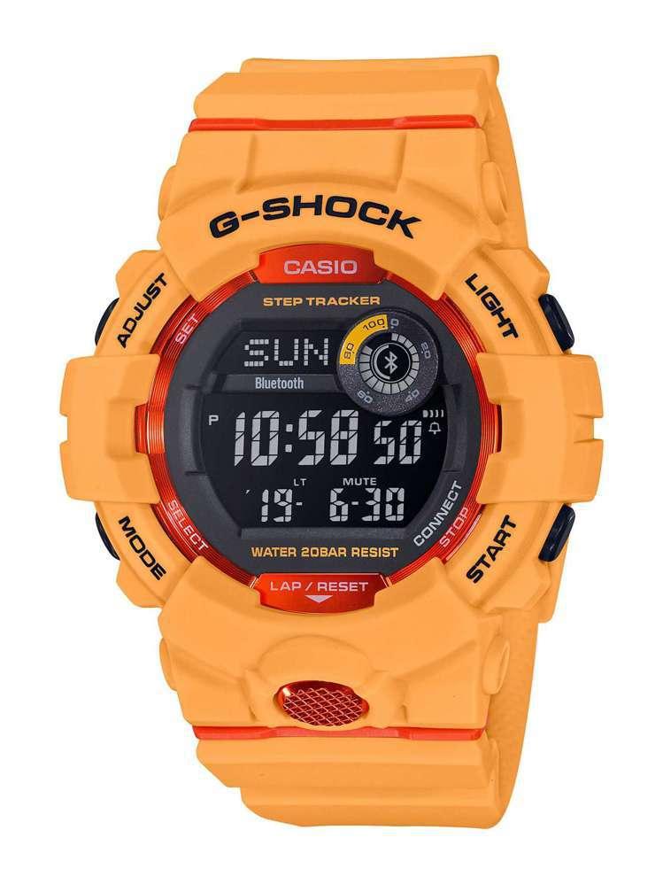 G-Shock Squad系列GBD-800-4腕表,約3,500元。圖/Cas...