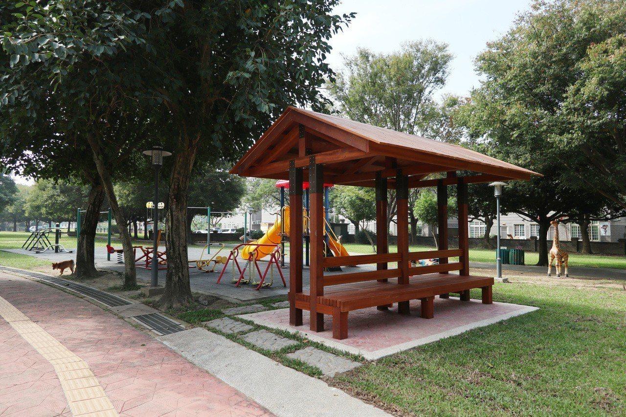 桃園大溪埔頂公園面積約5.5公頃,大片綠地景觀成為民眾休閒遊憩好去處。記者許政榆...