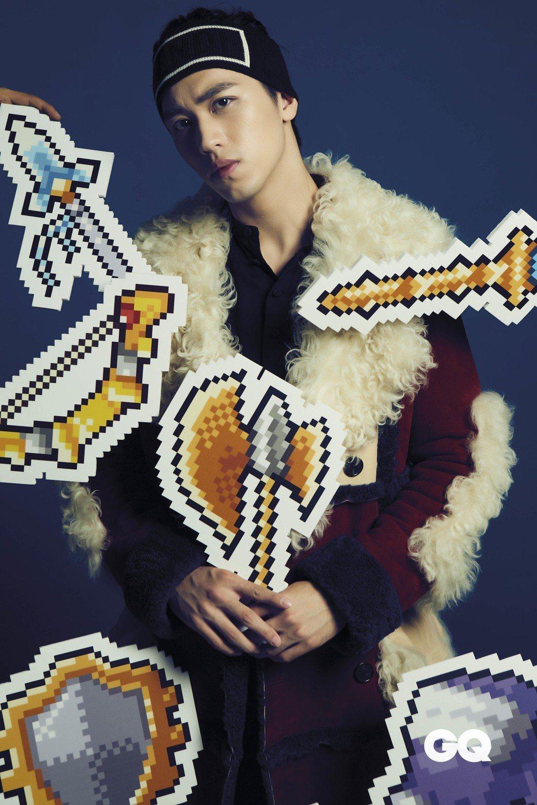 許魏洲出道2年,帥氣外表讓他深受時尚精品青睞。圖/GQ雜誌提供