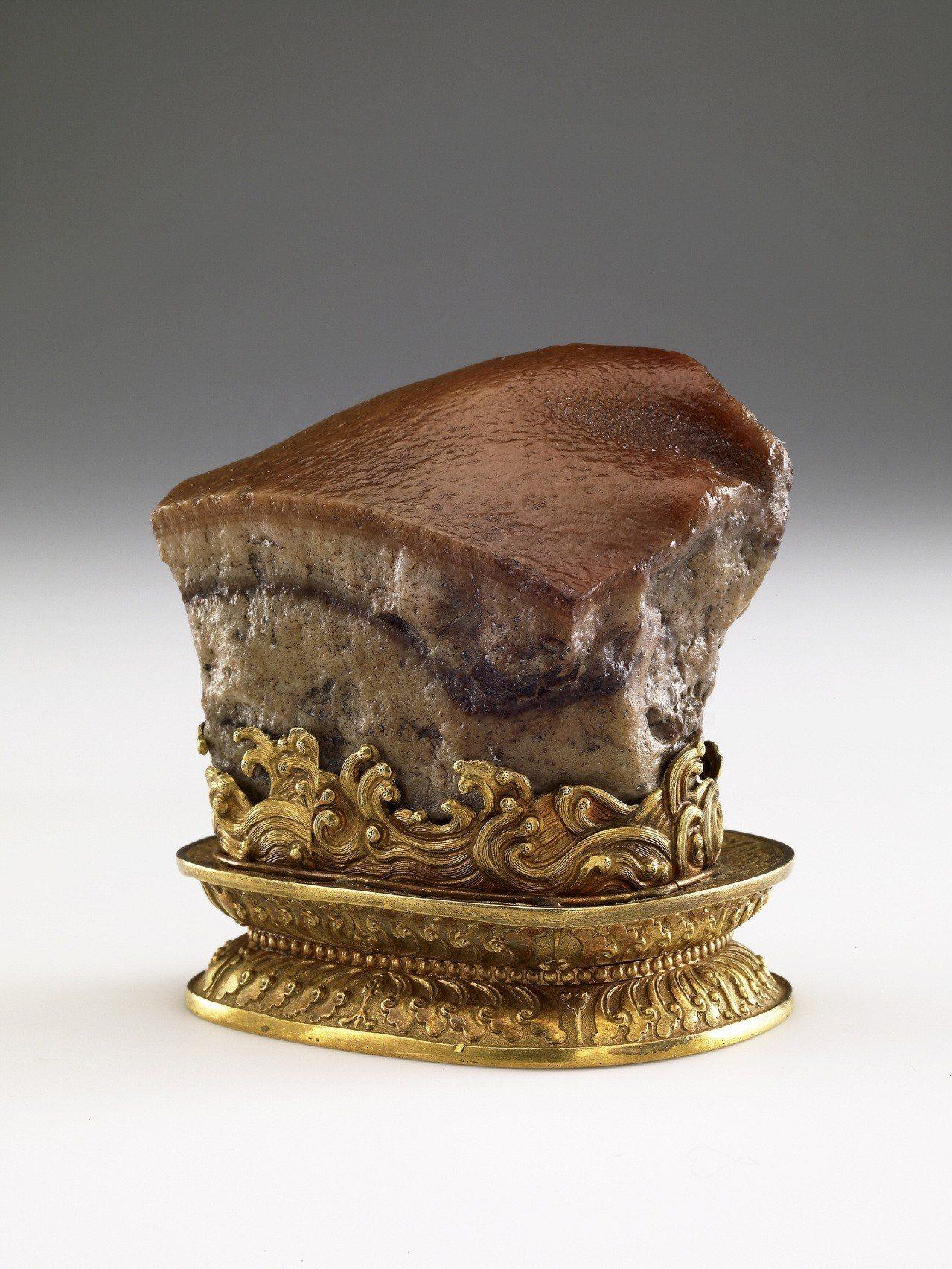 肉形石。圖/故宮提供