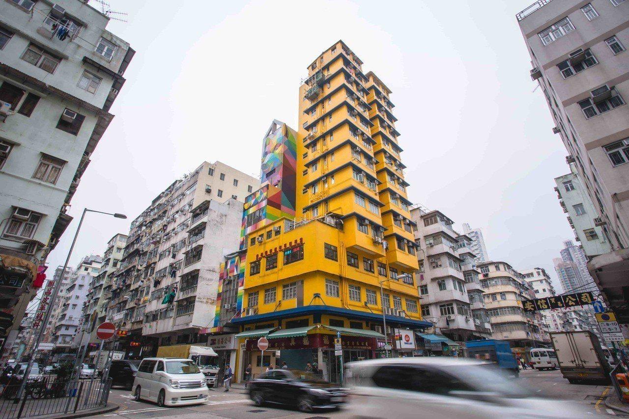 深水埗保有傳統的香港庶民面貌,是許多電影的取景拍攝地。圖/香港旅遊發展局提供