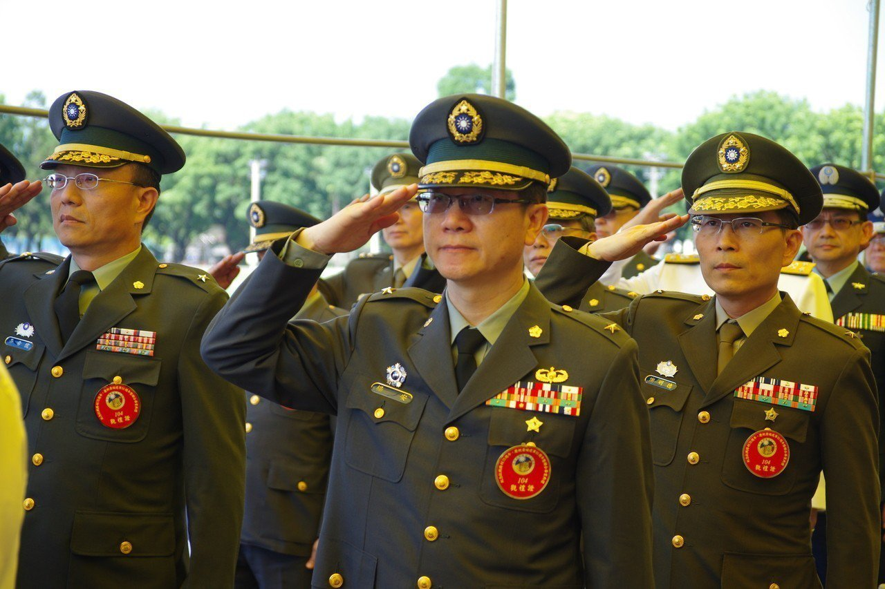 現任八軍團政戰主任楊安少將。資料照,記者程嘉文/攝影