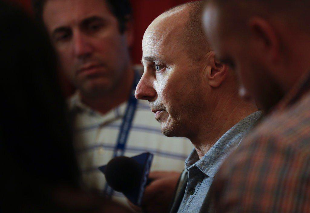 洋基總經理凱許曼表示球團會繼續以避開豪華稅為目標。 美聯社