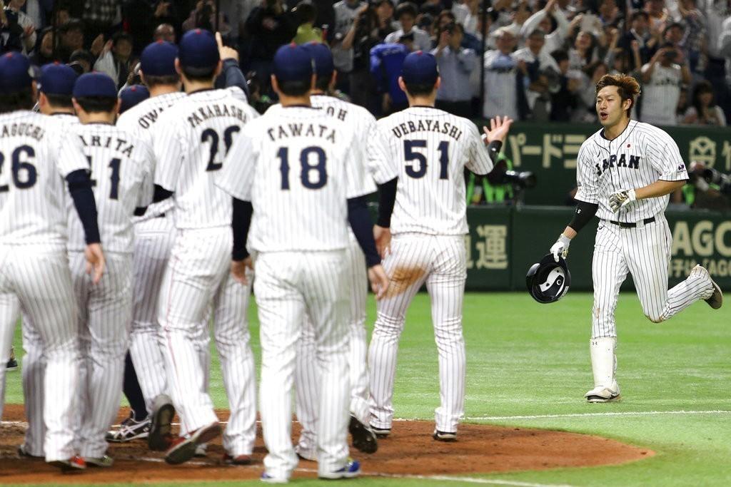 大聯盟明星隊在日本出師不利,教頭馬丁利認為只是沒打好最後一局。 美聯社