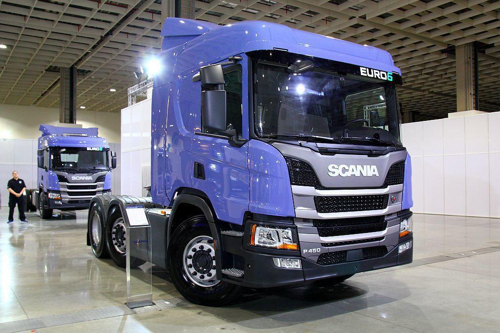 新世代Scania展開四場次全台巡迴展,包含11月17日高雄國際展覽館、11月25日台中國際展覽館、12月01日羅東文化工場。 記者張振群/攝影