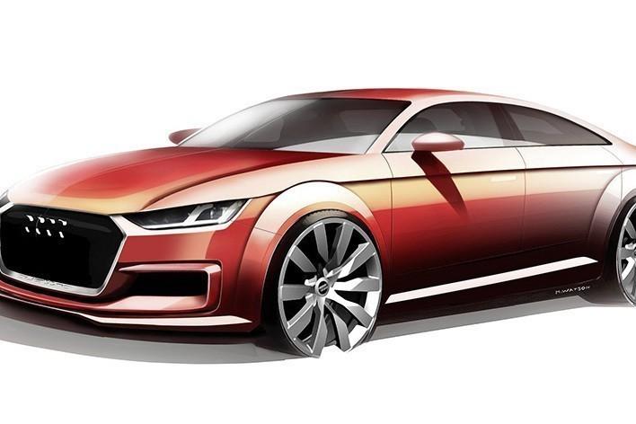 新世代Audi TT將變身四門Coupe?