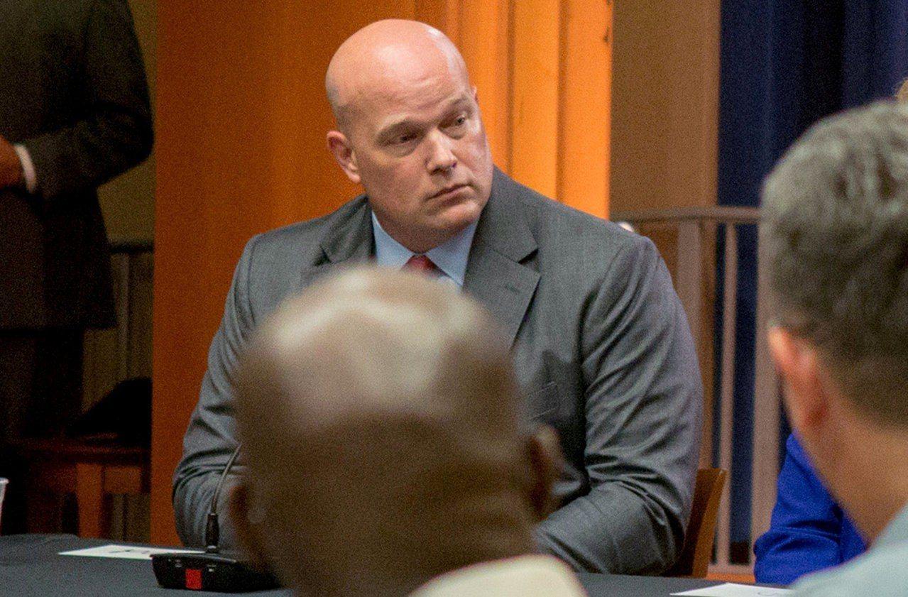 美國代理司法部長惠特克。路透