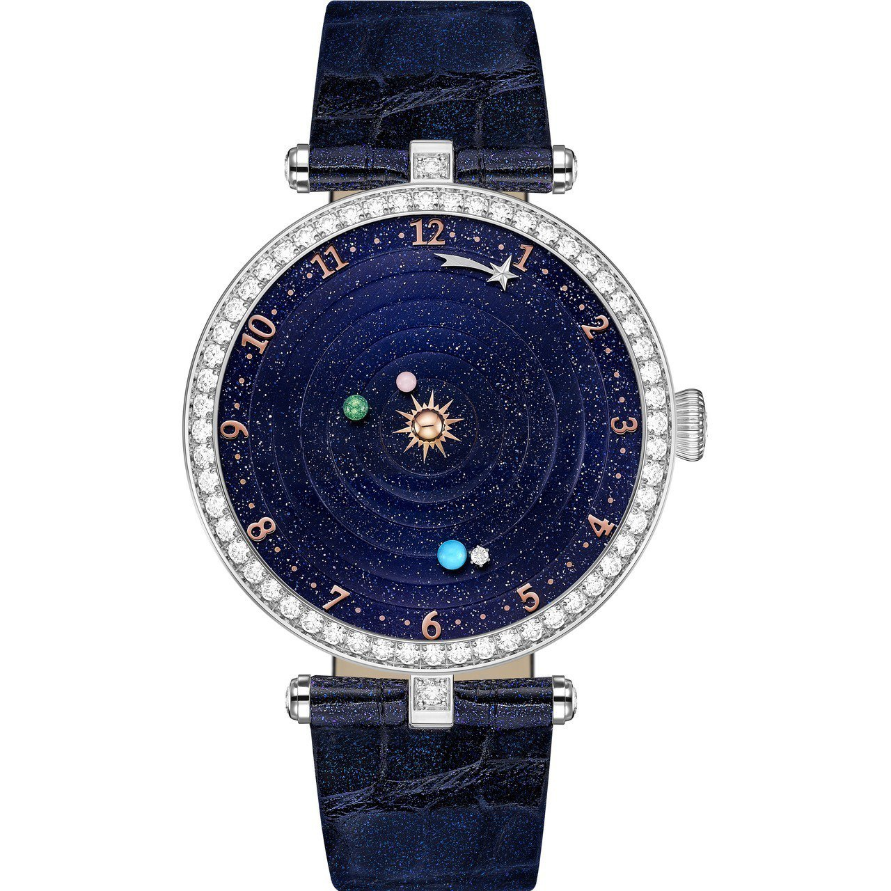 最佳複雜功能女表為梵克雅寶Lady Arpels Planétarium腕表,價...