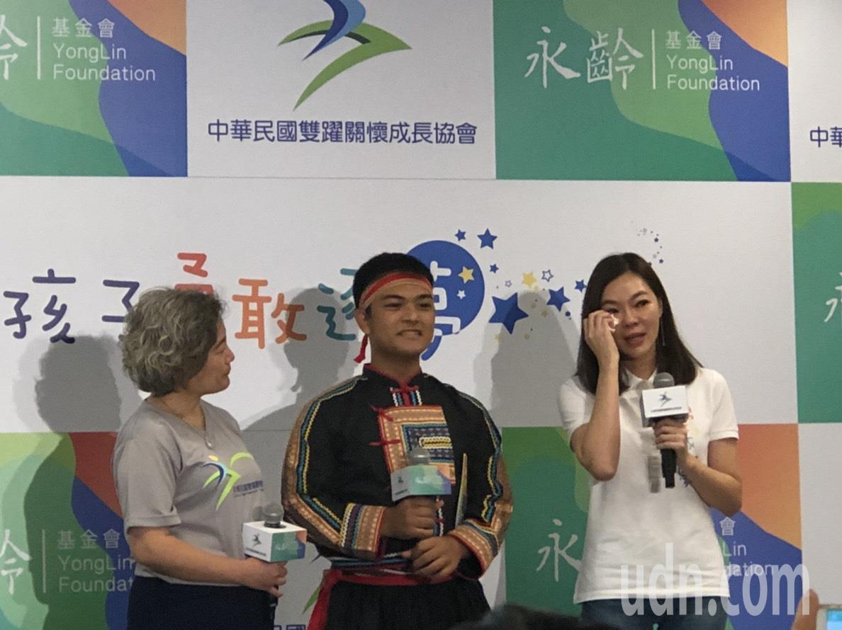今天是郭台銘夫人曾馨瑩的生日,他許願要幫台東部落的偏鄉孩子圓夢。記者林秀姿/攝影