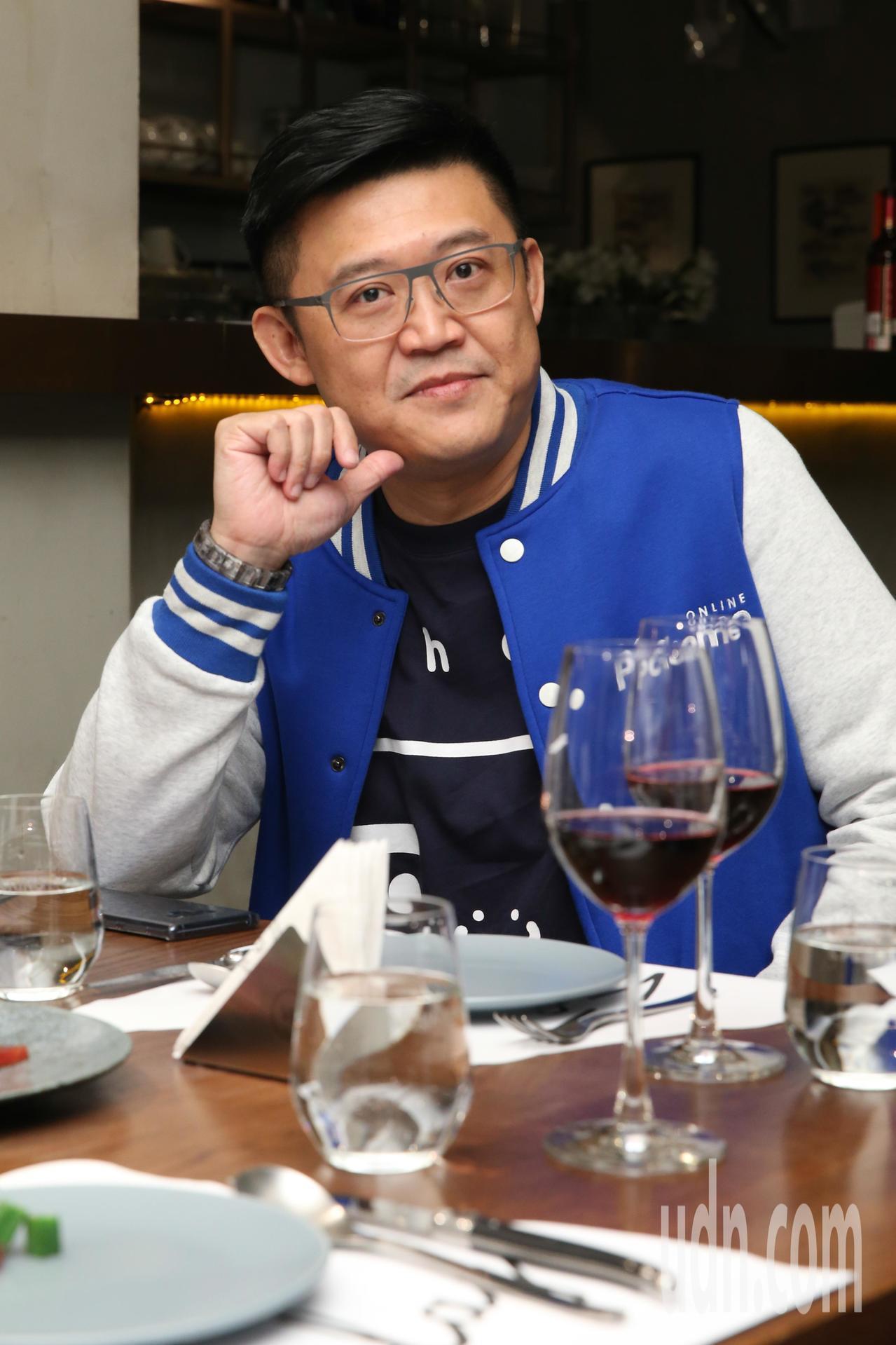網家董事長詹宏志、網家總經理蔡凱文(圖)下午一同出席記者會,聊雙11電商戰略布局...