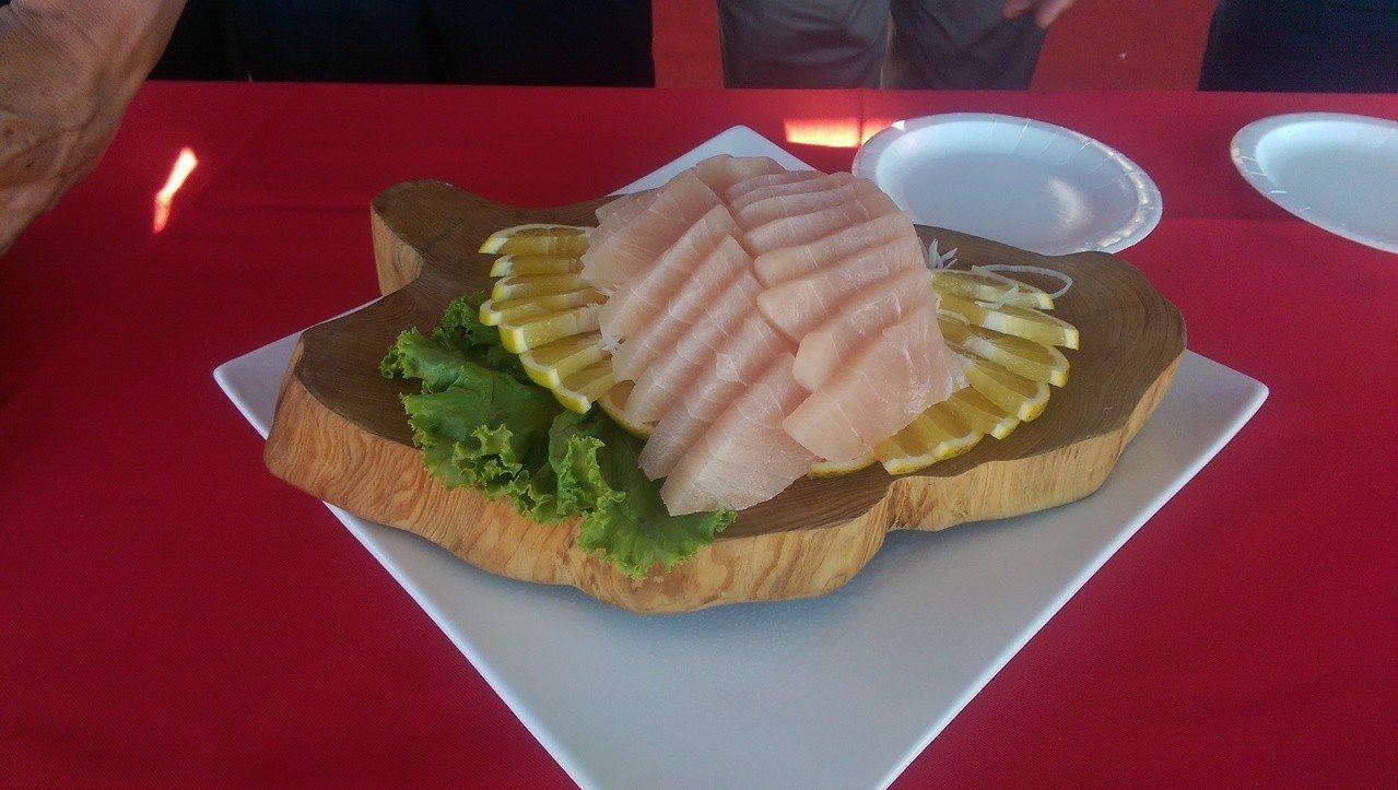 好吃的旗魚美食料理,等著大家來嚐鮮。記者尤聰光/攝影