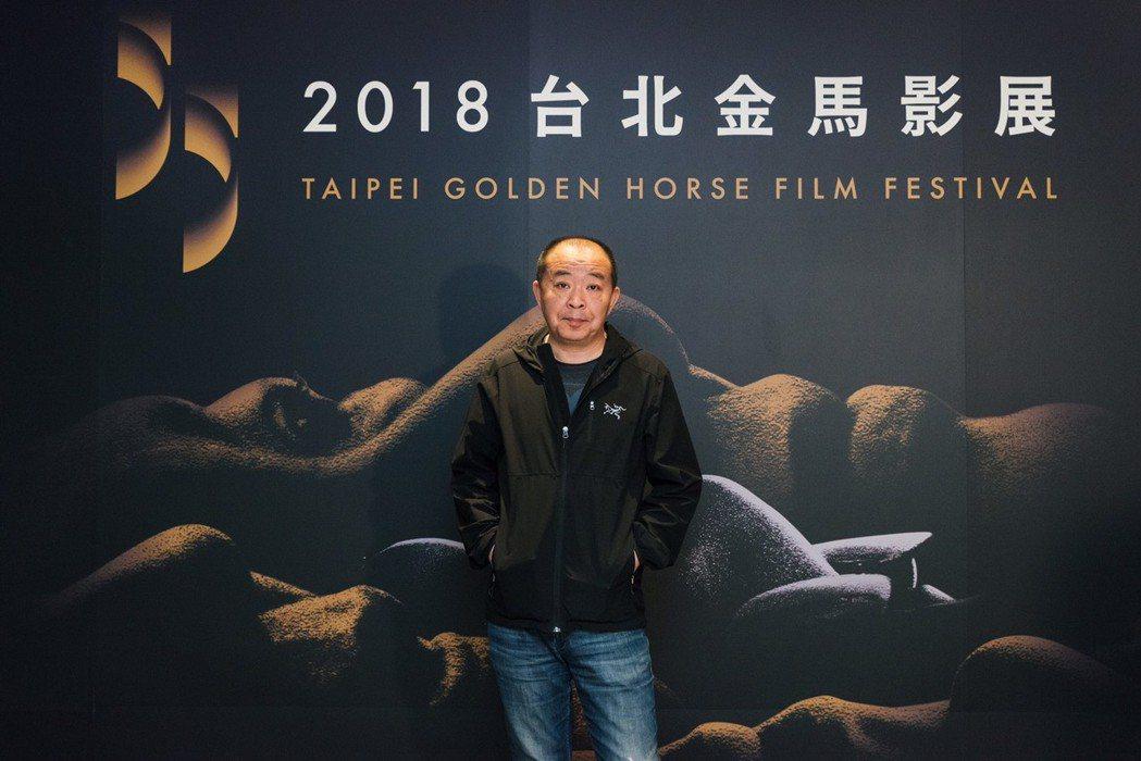 「寶貝兒」導演劉杰來台出席金馬影展,狂誇台灣好。圖/金馬執委會提供
