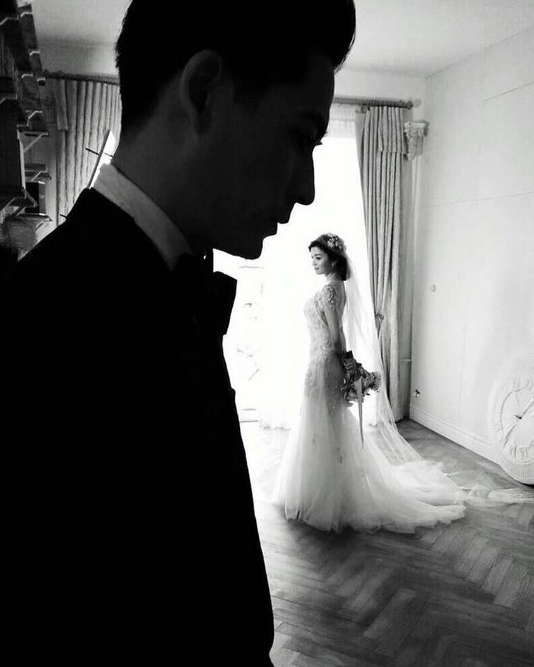 仔仔和喻虹淵結婚三周年放上婚紗照  圖/摘自臉書