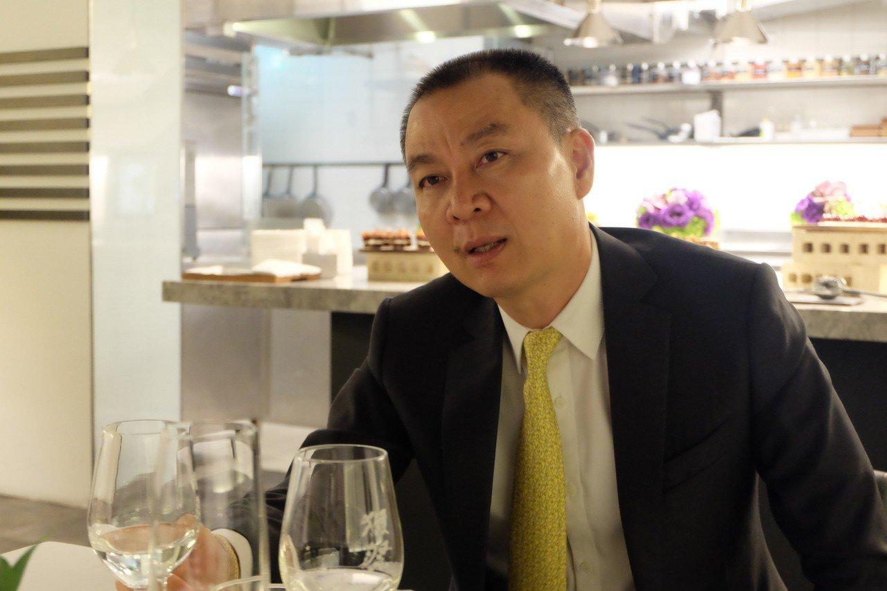 高雄御盟集團董事長邵永添。記者韓化宇/攝影