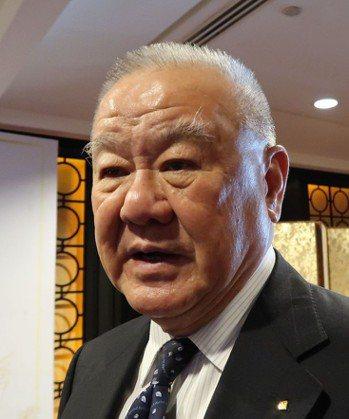 中華民國工商協進會理事長林伯豐建議,以稅法獎勵回台投資。 記者徐如宜/攝影