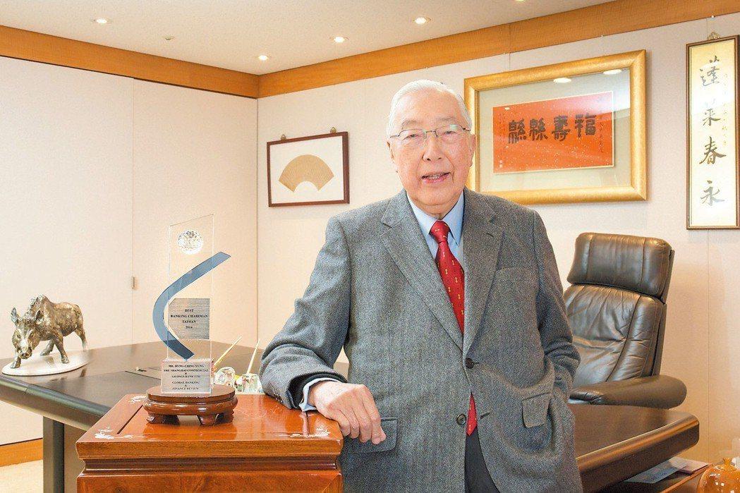 上海商銀董事長榮鴻慶
