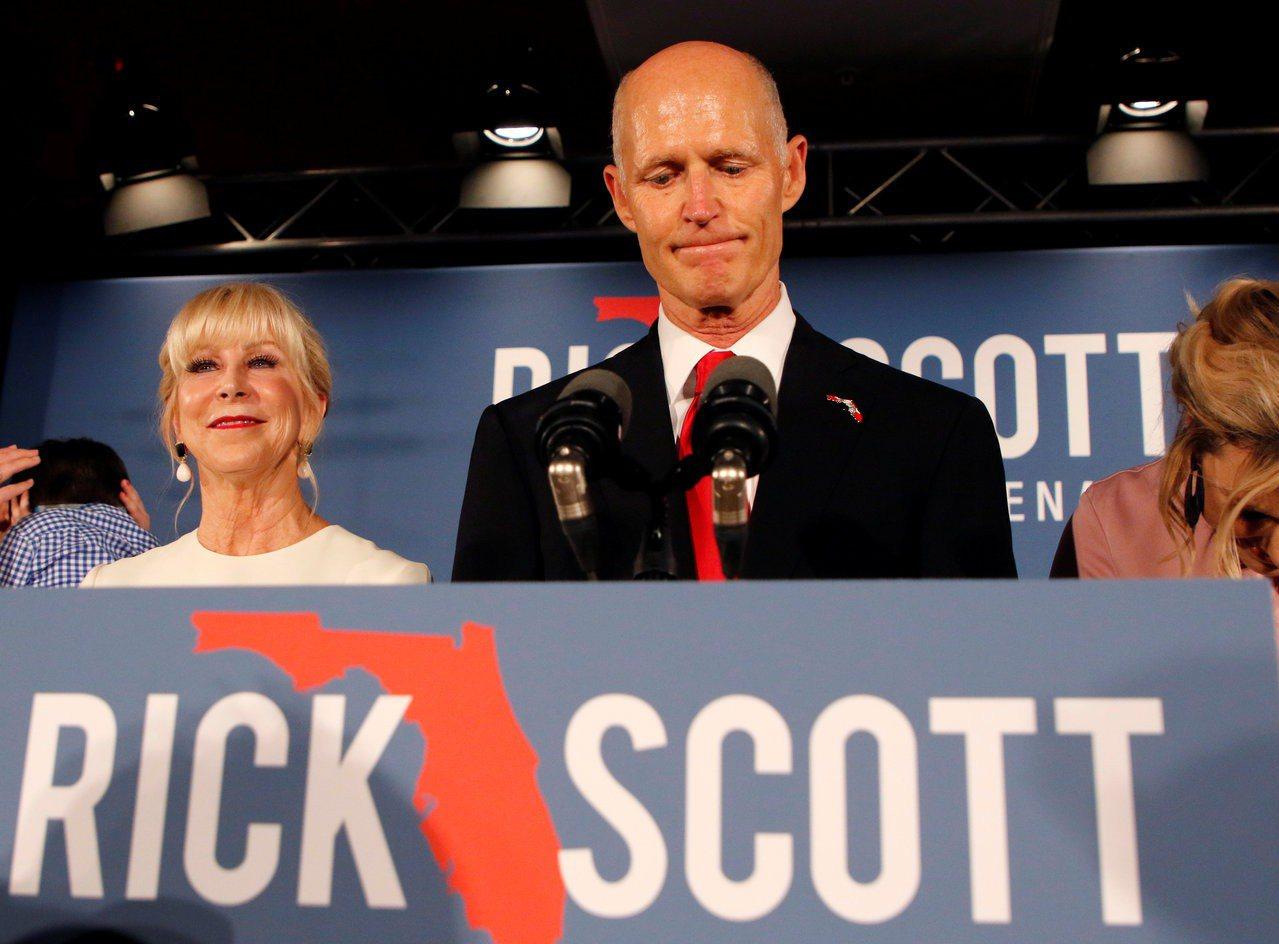 佛州州務卿下令三項選舉重新點票。 路透社