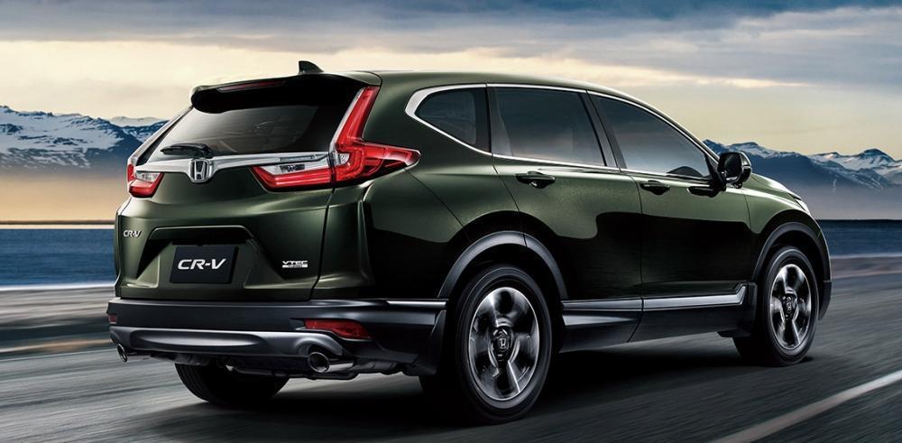 2019年式 Honda CR-V。 摘自Honda
