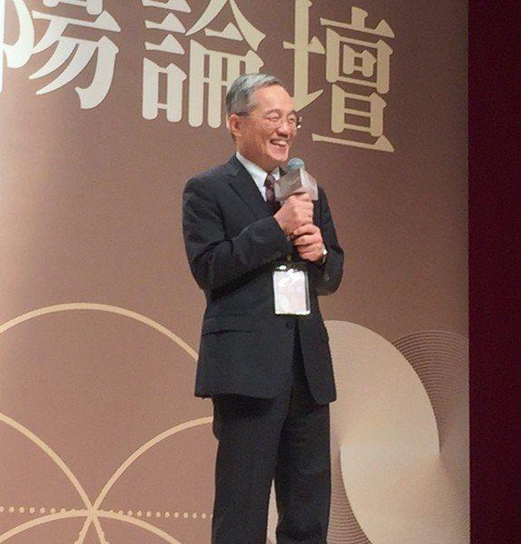台北榮民總醫院院長張德明認為,應該從長者需求出發,發展智慧醫療。(photo b...