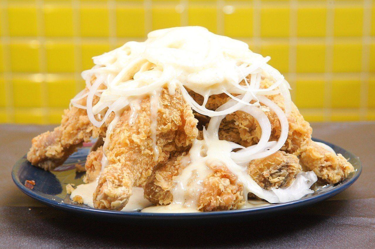 口味清爽的奶油優格炸雞。