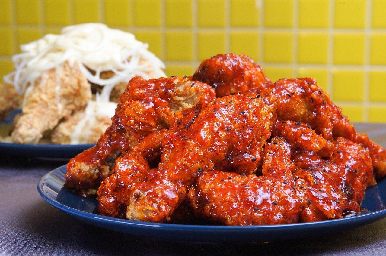 勁辣洋釀炸雞。