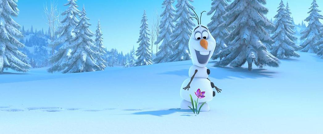 很搶戲的雪寶也會重回「冰雪奇緣2」。圖/摘自imdb
