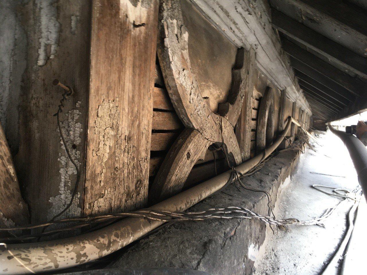 「台中停車場事務室」,罕見的擬洋風木造建築樣式。圖/台中文史復興組合提供