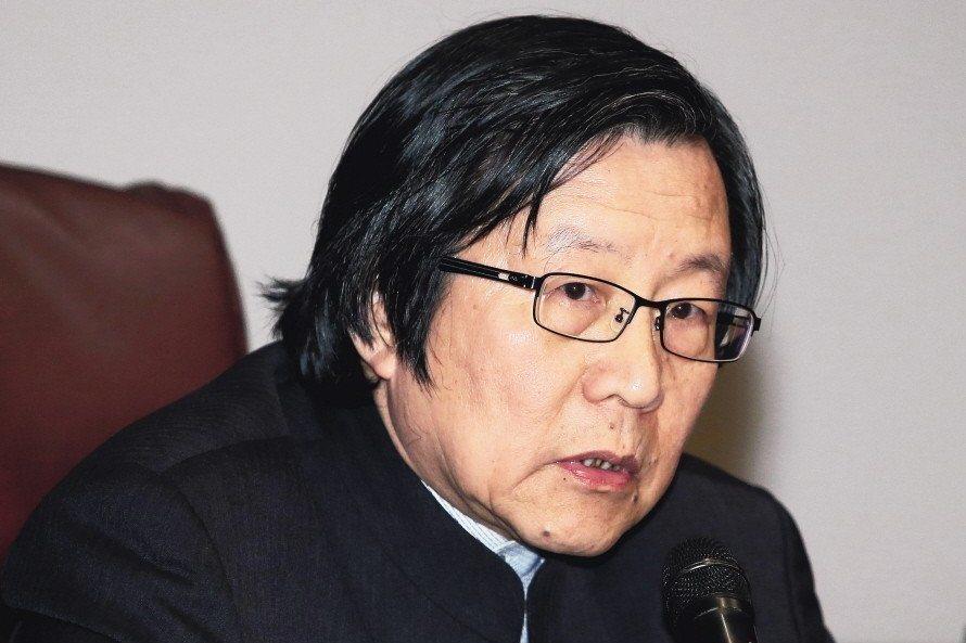 總統府前秘書長邱義仁曾在2004年立委選舉時,喊出要將國民黨「割喉割到斷」。圖/...