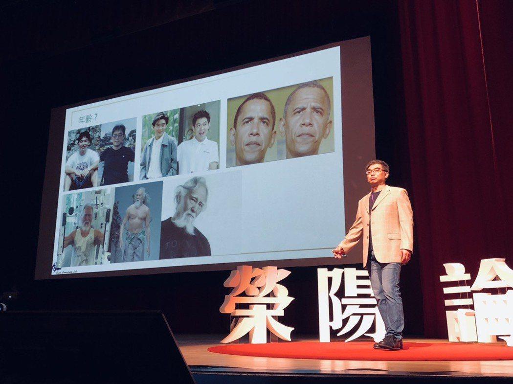 陽明大學神經科學研究所特聘教授林慶波。記者余承翰/攝影