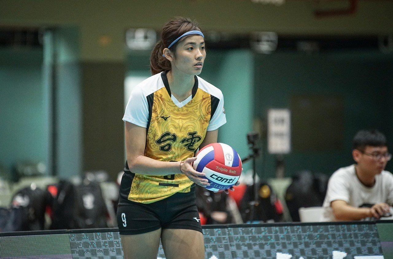 台電女排張秝芸。圖/中華排球協會提供