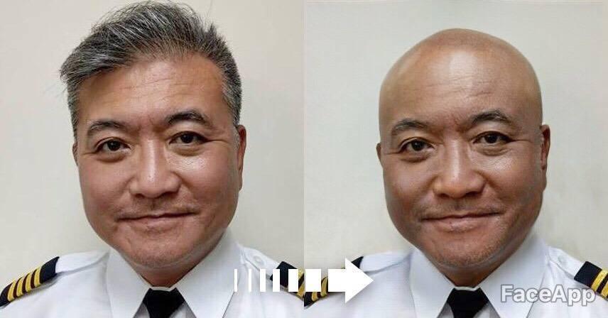 昨也有網友把何啟聖的大頭照kuso為禿頭照。圖/取自何啟聖臉書