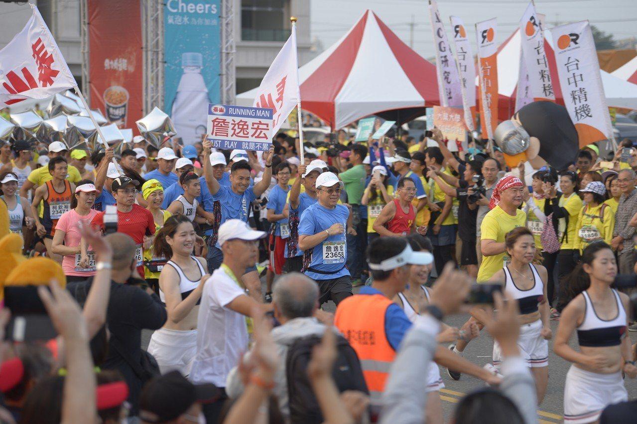 田中馬拉松被跑友譽為最有人情味的賽事,也是年年報名秒殺的賽事。公司提供