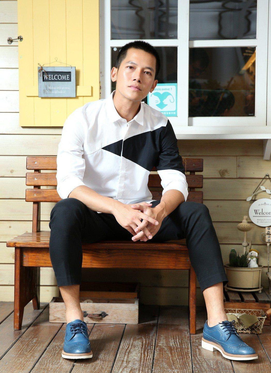 梁瀚名在「女兵日記」中飾演「林國樑」一角爆紅。 記者林澔一/攝影