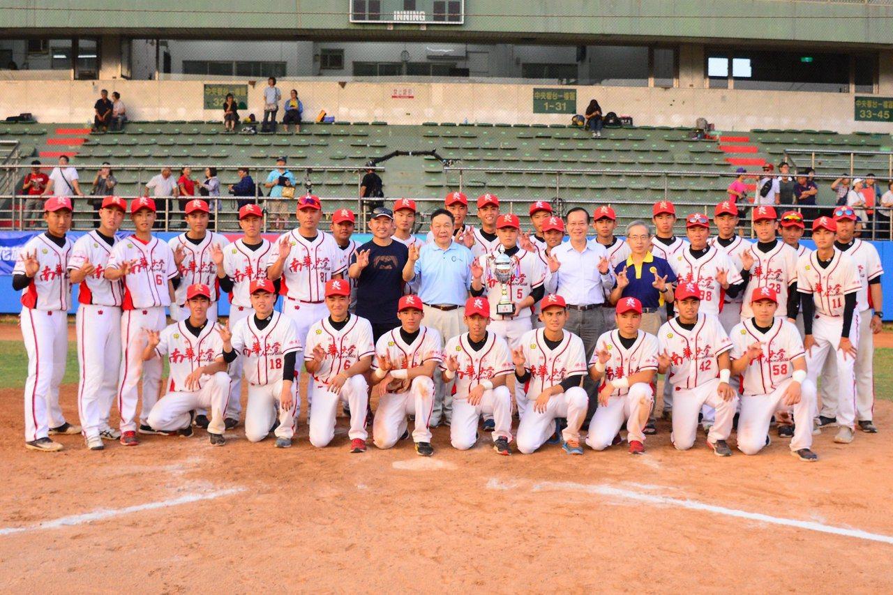 南華大學成軍第3年,在梅花旗奪亞軍,寫下隊史最佳成績。圖/取自三好體協粉絲團