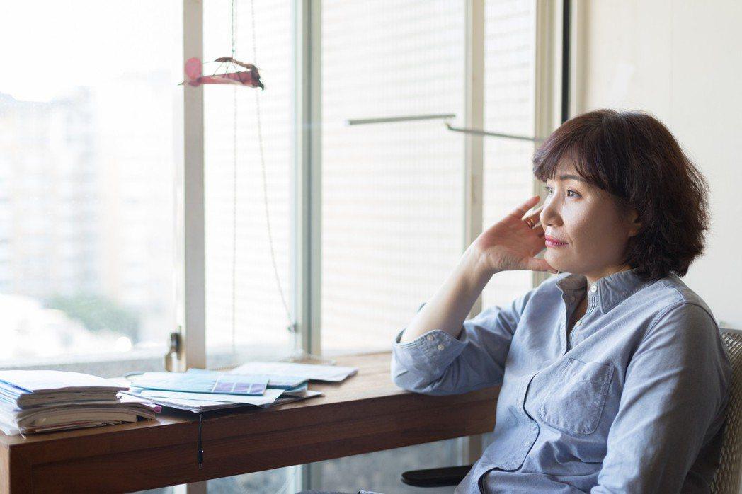 徐譽庭說:「不卡關的編劇,是不進步的編劇。」 陳立凱/攝影