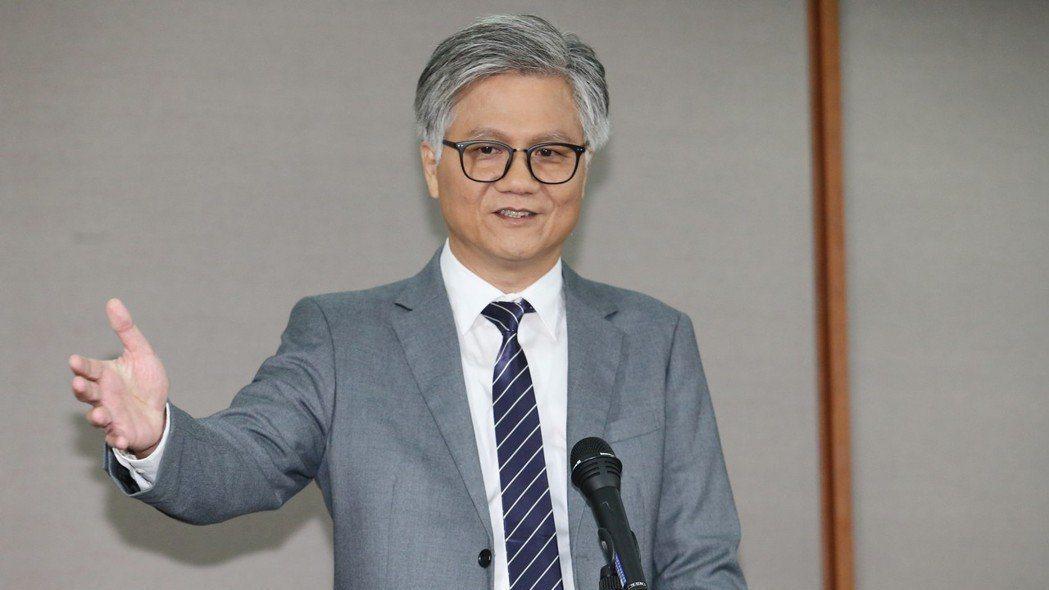 無黨籍台北市長候選人吳蕚洋。 記者許正宏/攝影