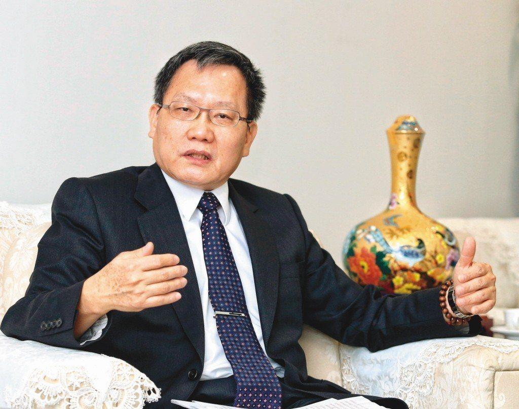 財政部長蘇建榮。聯合報系資料照