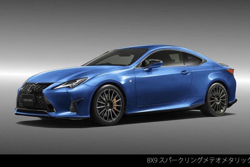 Lexus RC F也有新TRD套件可以選了!不過仍是日本限定