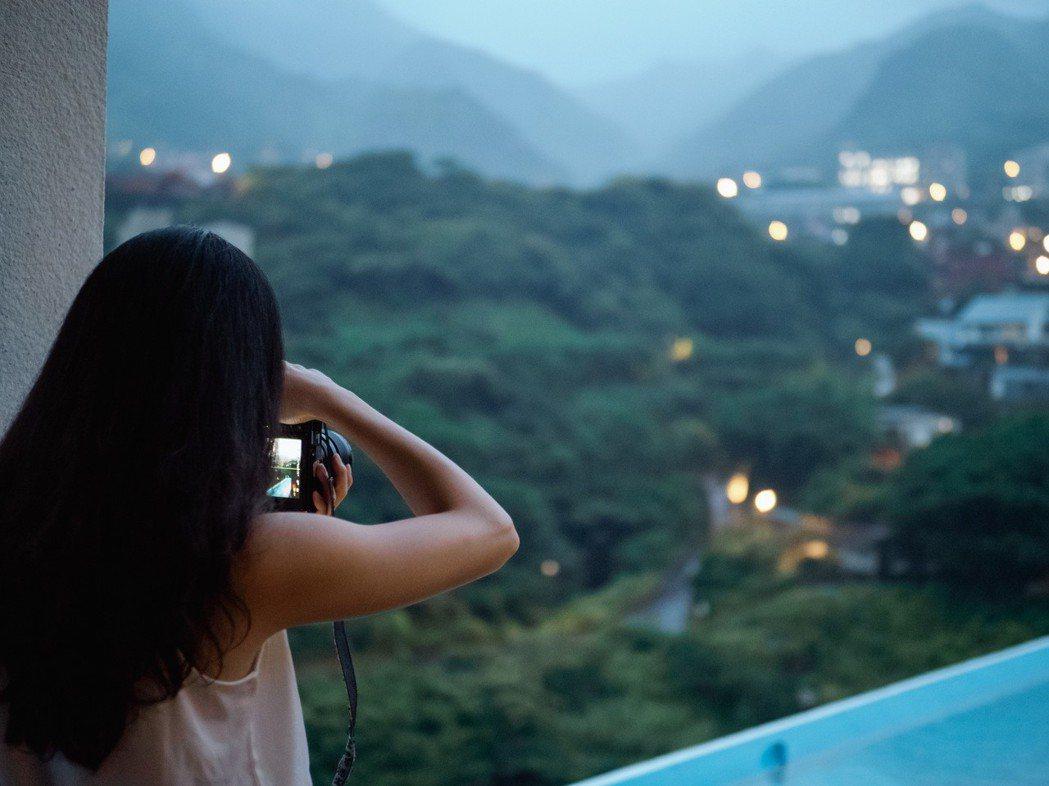 一覽金瓜石的獨特夜景。 圖/和泰汽車提供