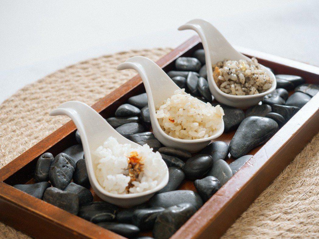 來自台東的好米,透過創意料理方式,帶來不同的溫度及風味。 圖/和泰汽車提供