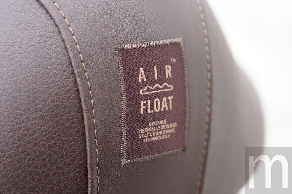 此次搭配使用的全新AirFloat椅墊設計