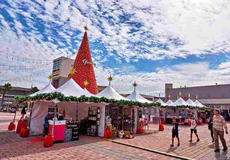 桃園華泰名品城的耶誕市集。圖/華泰名品城提供