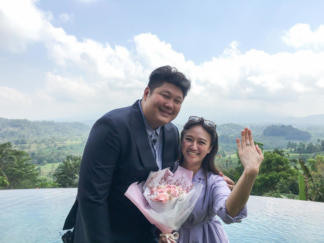 哈孝遠求婚成功也保不住節目。圖/TVBS提供