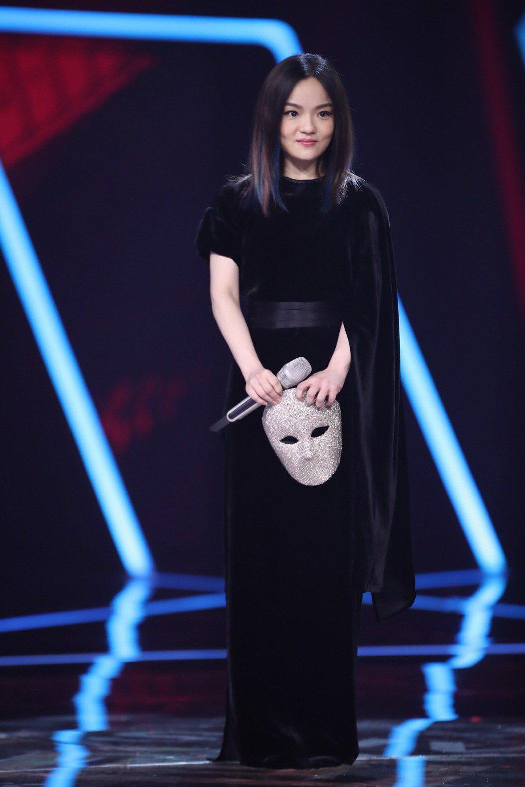 徐佳瑩的嗓音獨特,參加「蒙面唱將猜猜猜3」立刻被猜出身分。圖/亞神音樂提供