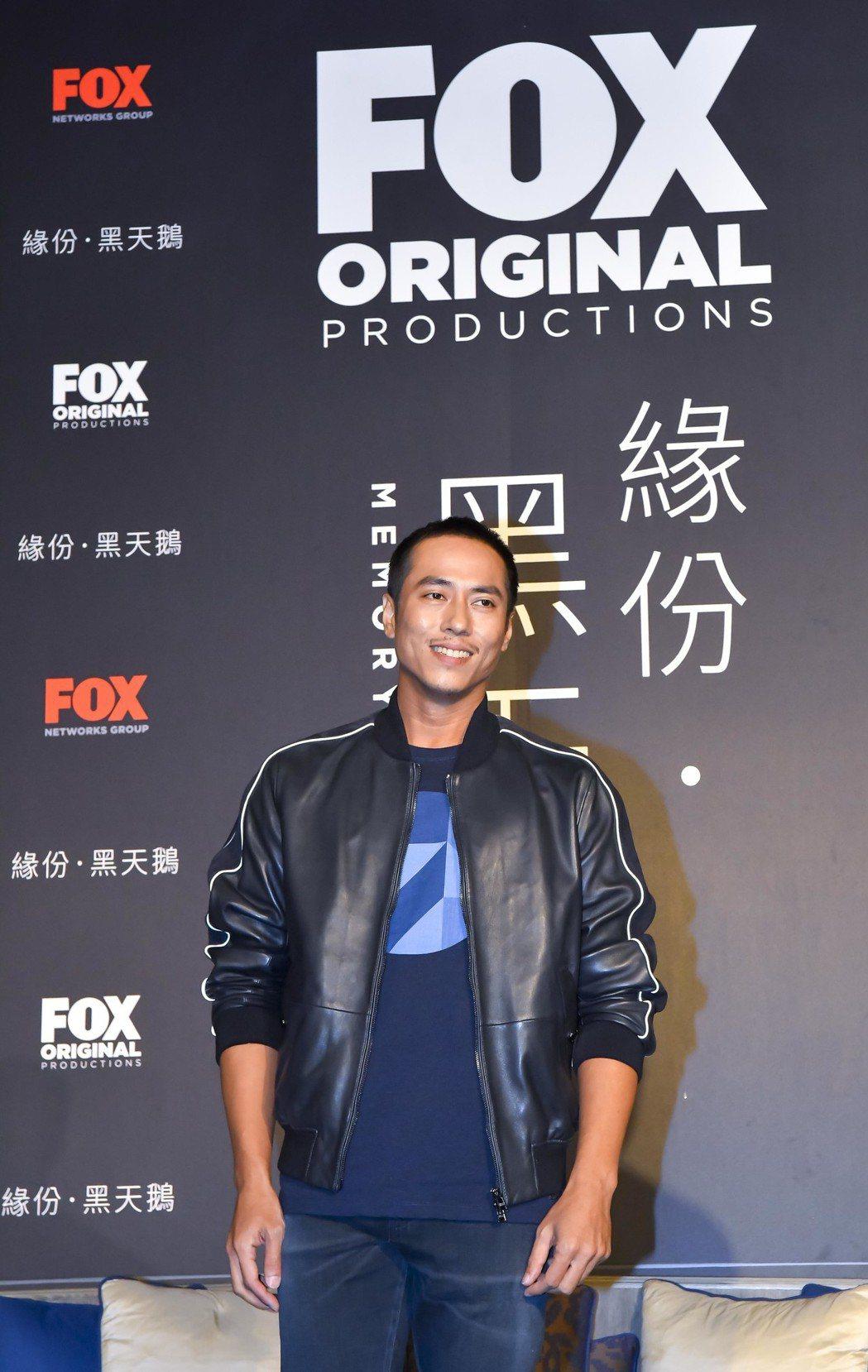 莊凱勛在「緣份·黑天鵝」影集中飾演格鬥拳擊手。圖/福斯傳媒集團提供
