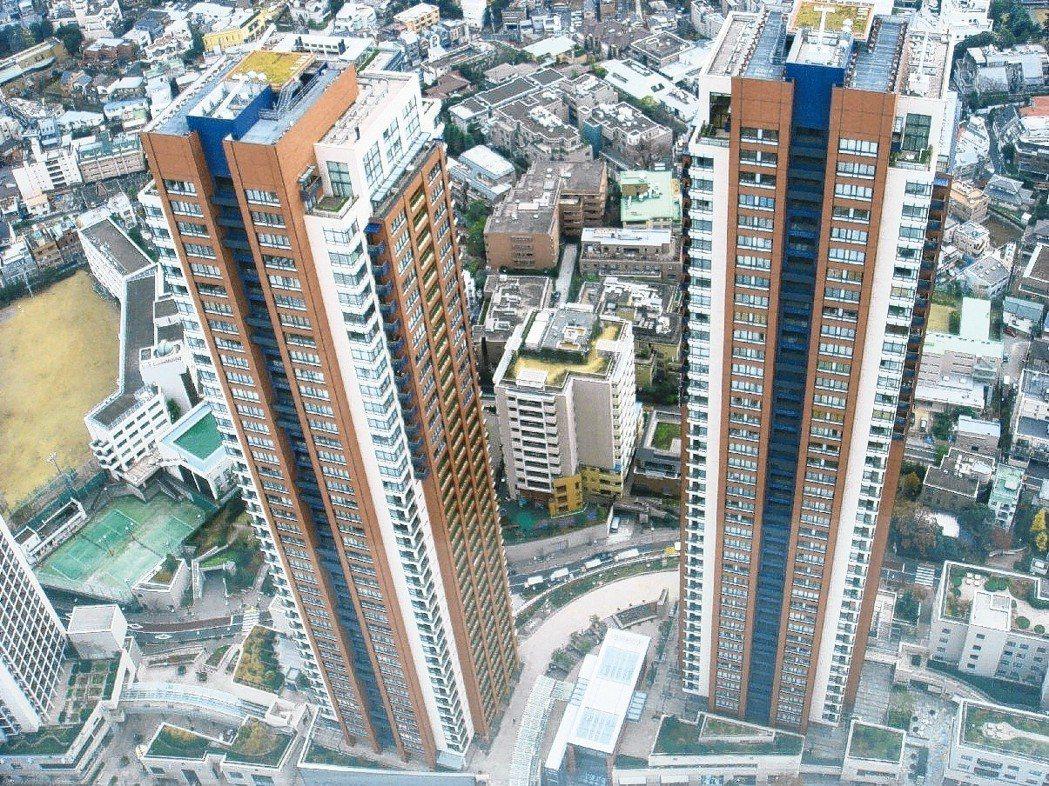 丘之奇蹟。成為趨勢,圖為六本木之丘上只租不賣的高級住宅。特派記者詹惠珠/攝影