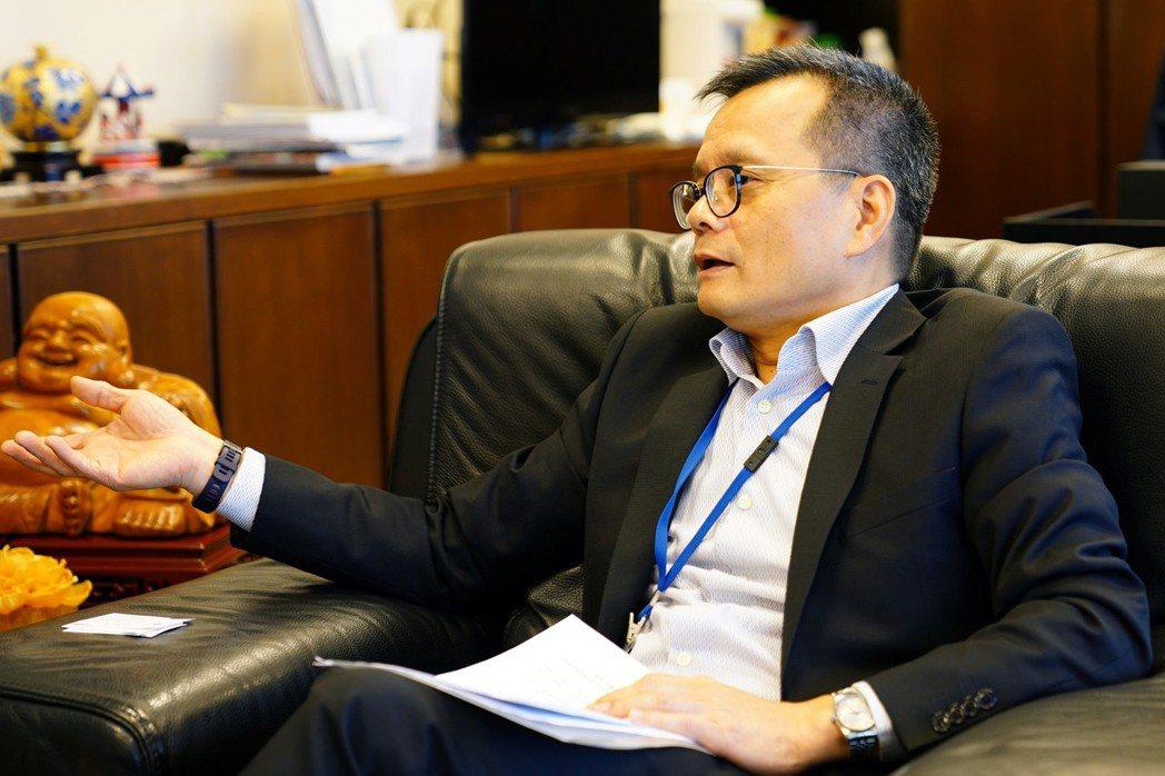 台汽電集團董事長張明杰帶領集團推動知識管理有成。鄭芝珊/攝影
